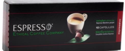Ethical Coffee lance sa gamme de capsules compatibles Nespresso