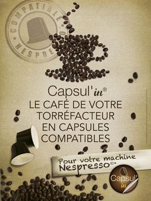 Nespresso compatible Capsul'in
